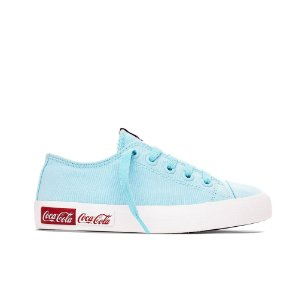 Tênis Coca-Cola Basket Blend Canvas - Blue