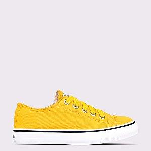 Tênis Capricho Like Canvas - Amarelo