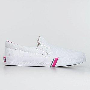 Tênis Capricho Iate Cotton - Branco/Pink