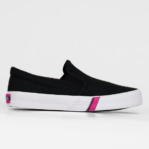 Tênis Capricho Iate Cotton - Preto/Pink
