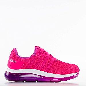Tênis Actvitta Nylon Flat Tecc Lohr Filme Cataluna Feminino - Pink Neon