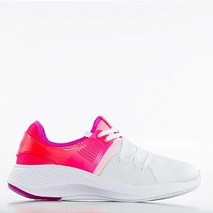 Tênis Actvitta Columbia Napa Duna Neo Pvc Feminino - Branco/Pink Neon