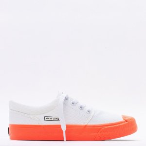 Tênis Feminino Mary Jane Insta Snow - White Fiery/Coral