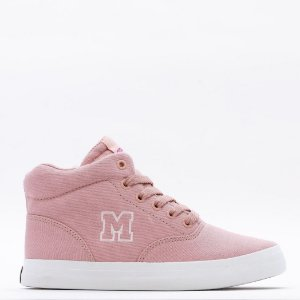 Tênis Feminino Mary Jane Cano Alto High School -  Rosa Quartz
