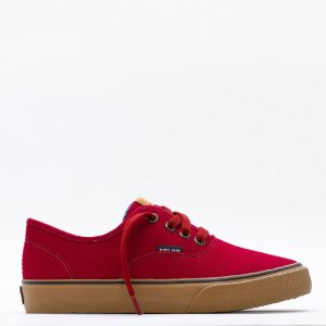 Tênis Feminino Mary Jane Venice Classic - Biking Red/Avelã