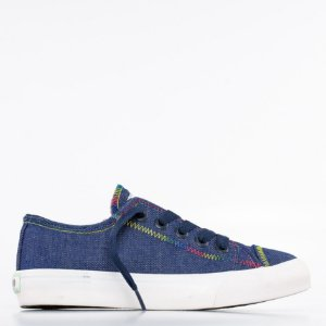 Tênis Capricho Like Canvas Stitches - Denim