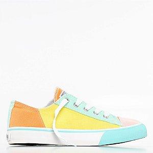 Tênis Capricho Likes Multicolor - Multicolor/Menta