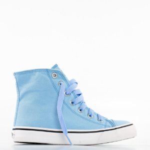 Tênis Capricho Like Canvas Hi - Powder Blue