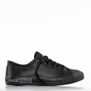 Tênis Coca-Cola Blend Leather - All Black
