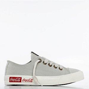 Tênis Coca-Cola Blend Canvas - Off White