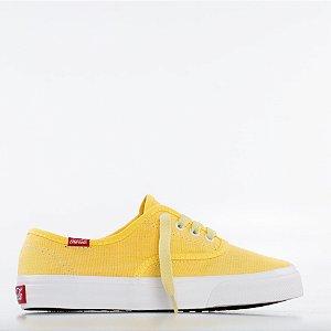 Tênis Coca-Cola Kick Summer - Elfen Yellow/Laranja