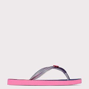 Chinelo Capricho Do Seu Jeito - Rosa Claro/Cristal Pink