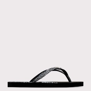 Chinelo Capricho Savage - Preto