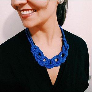 Colar de Corda Azul