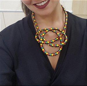 Colar de corda Afro