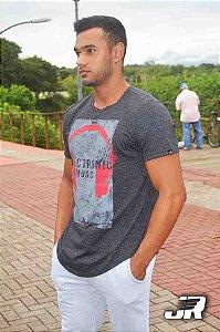 Camiseta Long  JR Preta