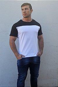 Camiseta Branca Slim JR - Modelagem Especial