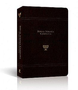 Bíblia Judaica Completa capa Onetone Marrom