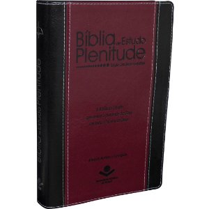 Bíblia de Estudo Plenitude Almeia Revista e Corrigia