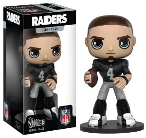 Funko Bobble-Head - Derek Carr - Oakland Raiders