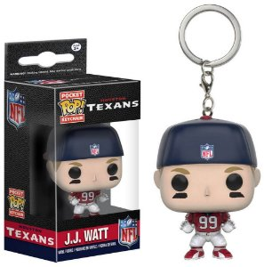 Chaveiro Funko POP! NFL - JJ Watt - Houston Texans