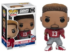 Funko POP! NFL - Odell Beckham Jr #55 - Red - New York Giants