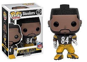 Funko POP! NFL - Antonio Brown #62 - Black - Pittsburgh Steelers