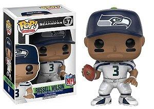 Funko POP! NFL - Russell Wilson #57 - White - Seattle Seahawks