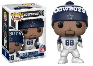 Funko POP! NFL - Dez Bryant #69 - White  - Dallas Cowboys