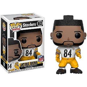 Funko POP! NFL - Antonio Brown #62 - White - Pittsburgh Steelers