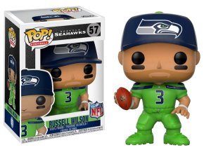 Funko POP! NFL - Russell Wilson #57 - Green - Seattle Seahawks