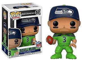 Funko POP! NFL - Russell Wilson #57 - Green - Seattle Seahawks
