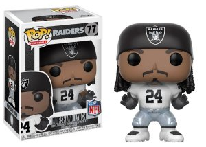 Funko POP! NFL - Marshawn Lynch  Away - Oakland Raiders #77