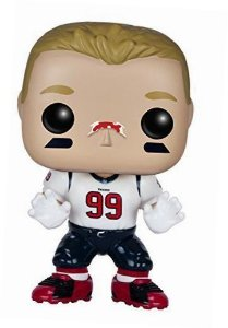 Funko POP! NFL - JJ Watt #34 - Houston Texans - Branco
