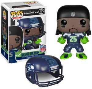 Funko POP! NFL - Richard Sherman #02 - Seattle Seahawks