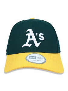 Boné New Era 940 Oakland Athletics Verde