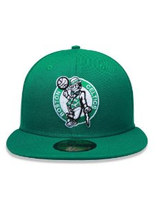 Boné New Era 5950 Boston Celtics Verde