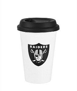 Copo de Café NFL - Oakland Raiders