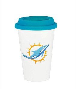 Copo de Café NFL - Miami Dolphins
