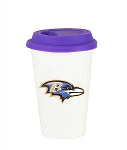 Copo de Café NFL - Baltimore Ravens