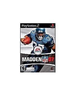 Jogo Madden NFL 07 - Playstation 2 - PS2