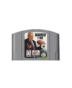 Jogo Madden NFL 99 - Nintendo 64