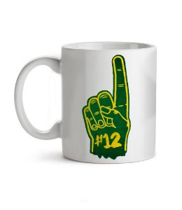 Caneca Number One Green Bay Branca