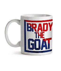 Caneca Brady The G.O.A.T Branca