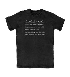 Camiseta PROGear Dictionary: Fieldgoal
