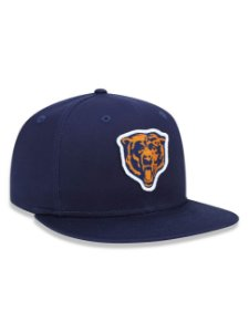 Boné 950 New Era NFL Chicago Bears Marinho