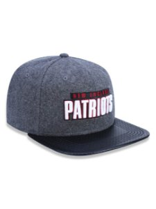 Boné 950 New Era NFL New England Patriots Mescla Negro