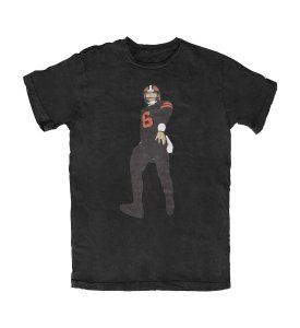 Camiseta Silhouette Baker Mayfield