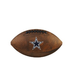 Bola de Futebol Americano NFL Throwback Dallas Cowboys