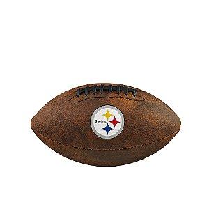 Bola de Futebol Americano NFL Throwback Pittsburgh Steelers